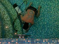 Подводный ремонт бассейна