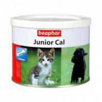 """Витамины для щенков, котят, беременных собак и кошек Беафар """"Юниор-кальк"""" 200г"""