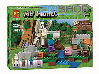 """Конструктор """"Minecraft"""" MY WORLD"""
