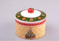 """Банка для сыпучих продуктов 13х11 см. """"Christmas"""" Новогодняя коллекция"""
