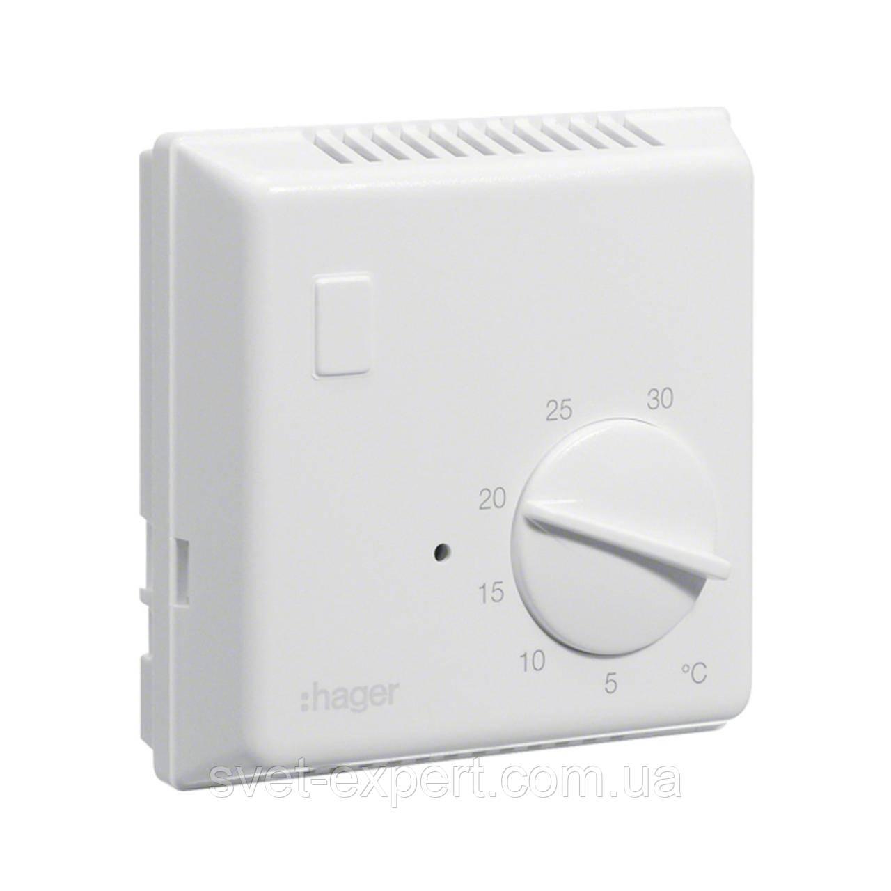 Термостат біметалевий Hager EK052 , 230В/ 10А, контакт - перемикаємий