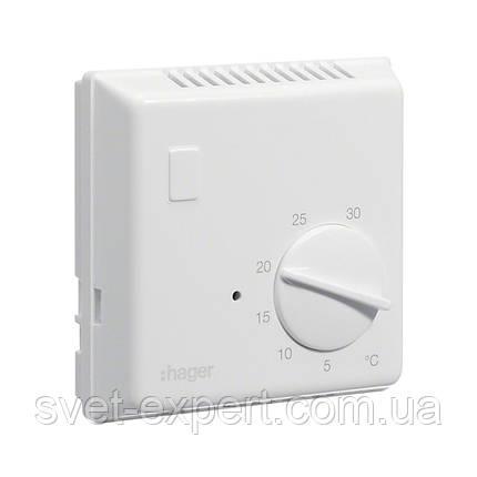 Термостат біметалевий Hager EK052 , 230В/ 10А, контакт - перемикаємий , фото 2