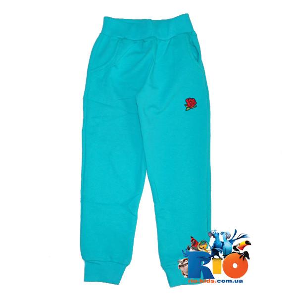 Детские спортивные штаны (весна), для девочки 11-14 лет (5 ед в уп)