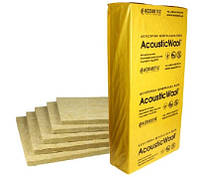 Звукоизоляционная плита для плавающих полов, AcousticWool Sonet F, 120 кг/м 3 (6,0 м 2 /упак.)
