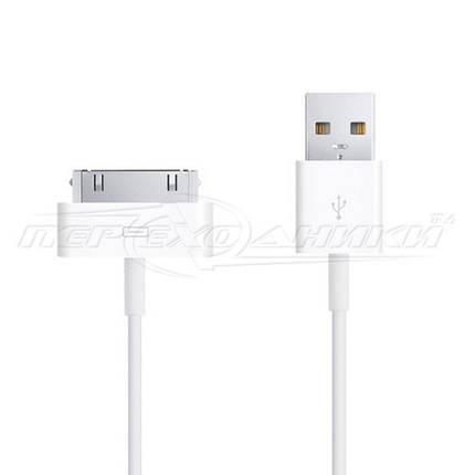 Кабель Apple 30-pin to USB, 1 м, фото 2