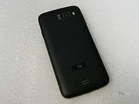 Крышка АКБ+кнопка вкл/выкл+кнопка звука,белый для телефона Fly IQ4491Quad код X4030F0032