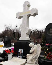 Мраморный  крест на могилу № 26