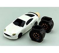 Коньячный набор Авто мини спорт белый., фото 1
