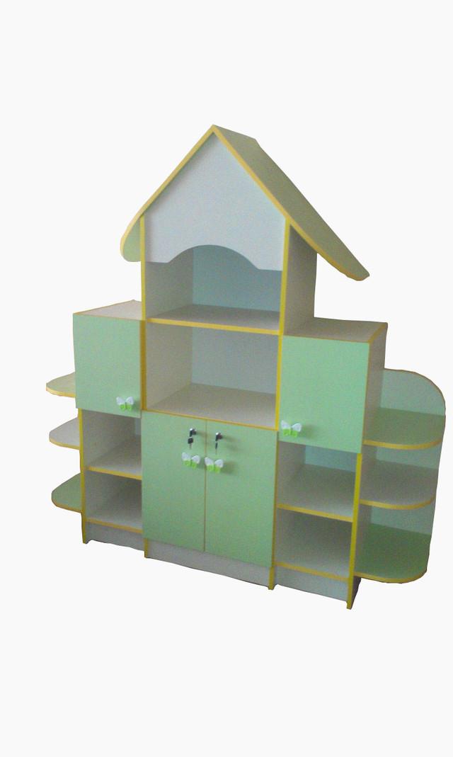 Шкаф стеллаж для игрушек