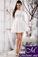 Коктейльное платье с пышной юбкой (р. 42, 44, 46) арт. 11985