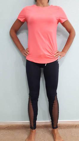 Лосины женские спортивные Maraton с сеткой, фото 2