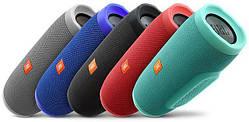 Портативная беспроводная Bluetooth MP3 колонка JBL Charge 3+
