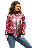 Яркая весенняя женская куртка