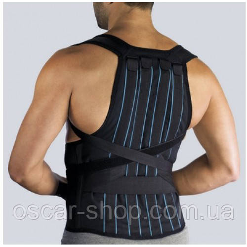 Корректор осанки ортопедический жесткий. 8 ребер жесткости