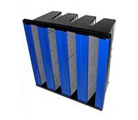 Угольно-пылевые воздушные фильтры компактные типа ФяС-СП-К