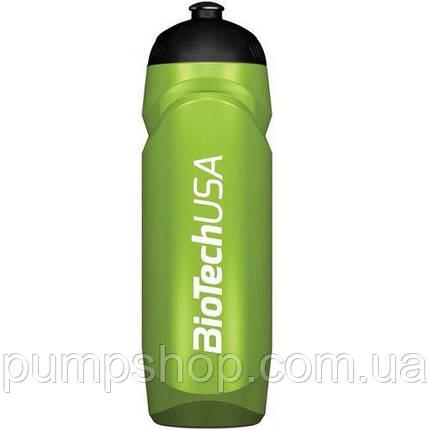 Бутылка для воды Waterbottle BioTech 750 мл зеленая, фото 2