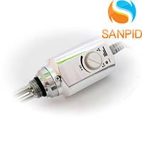 Тэн Volux RD10 для полотенцесушителя с термостатом 300 Вт, хром