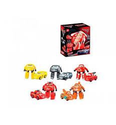 """Іграшка трансформер """"Тачки"""" 660-A121, 5 видів Cars Walt Disney в кор."""