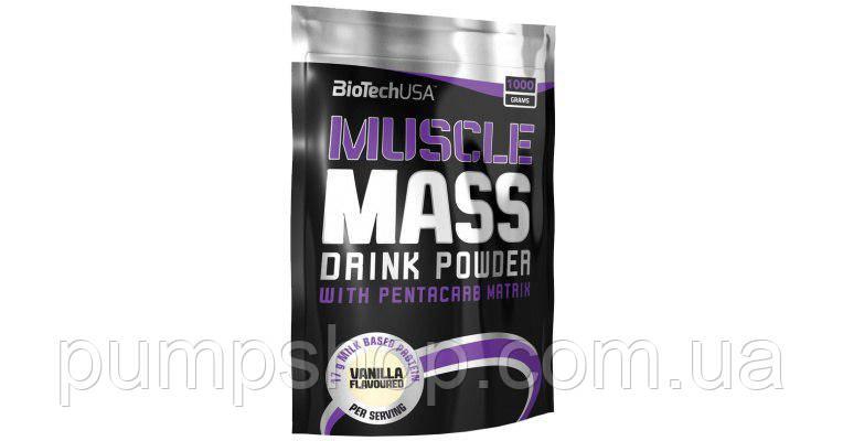 Гейнер BioTech USA Muscle Mass - 4000 грамм