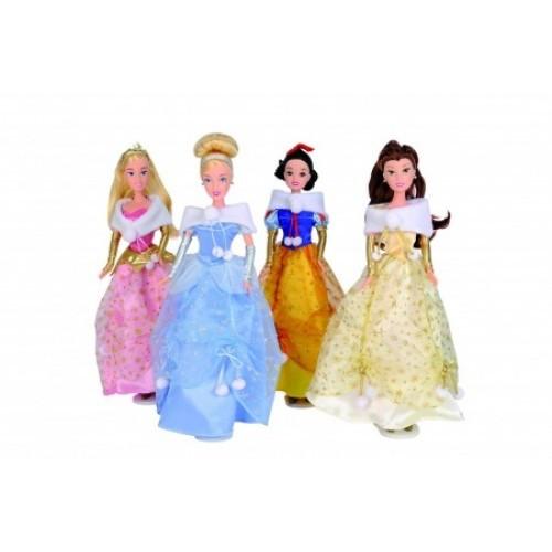 Принцессы Диснея - Бель, Белоснежка, Золушка, Рапунцель Simba Disney