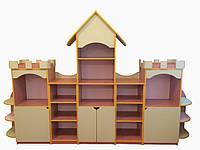 """Шкаф блок для пособий и игрушек """" Замок """""""
