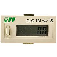 Счетчики времени работы CLG-13T 24 щитовой F&F