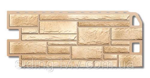 Фасадні панелі під камінь «Камінь Пісчаник» Альта Профіль