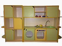 """Комплект игровой мебели """" Кухня + шкаф для игрушек """""""