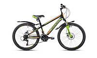 "Велосипед Intenzo Forsage 24"" зелено-оранжевый"