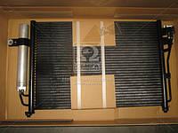 Конденсатор кондиционера HYUNDAI GETZ (TB) (02-) 1.3-1.6 AT (производство Nissens) (арт. 94646), AGHZX