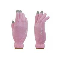 Перчатки iGlove для сенсорных экранов iPhone, iPad, iPod Светло-розовые