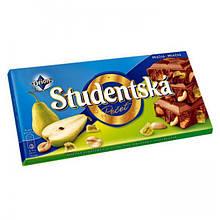 Шоколад Studentska 180гр. груша орех