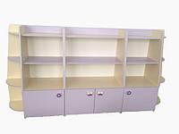 Шкаф - блок для пособий и игрушек