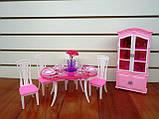 Кукольная мебель Глория Gloria 24011 Стильная красивая столовая Леди, фото 5