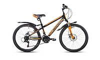 """Велосипед Intenzo Dakar 24"""" черно-оранжевый"""