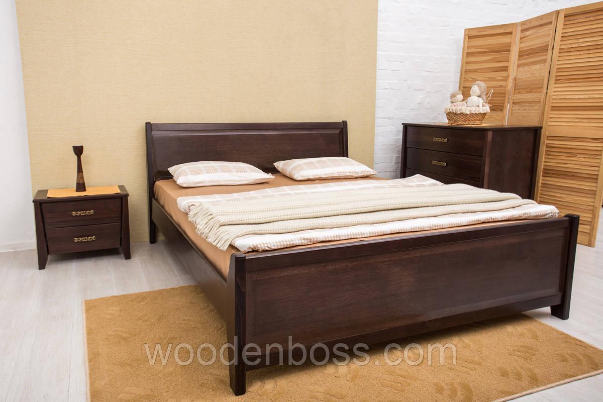 Кровать двуспальная Сити с филенкой 200х200