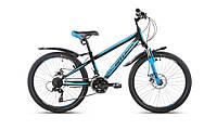 """Велосипед Intenzo Dakar 24"""" черно-синий"""