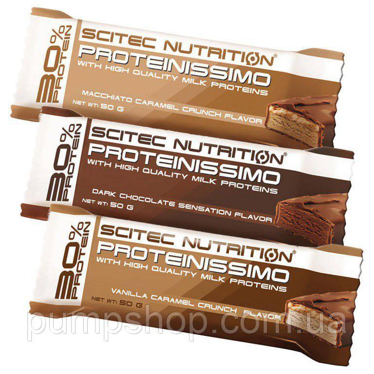 Протеиновый батончик Scitec Nutrition Proteinissimo 50 грамм