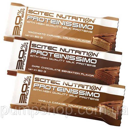 Протеиновый батончик Scitec Nutrition Proteinissimo 50 грамм, фото 2