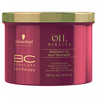 BC OIL Miracle NEW Маска с маслом бразил. ореха 500 мл