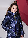 Новинка! Куртка- жилет осенняя для девочки Дарина, Размеры 140- 158, фото 6