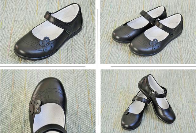 Школьные туфли для девочки Eleven Shoes LR-324.929 фото