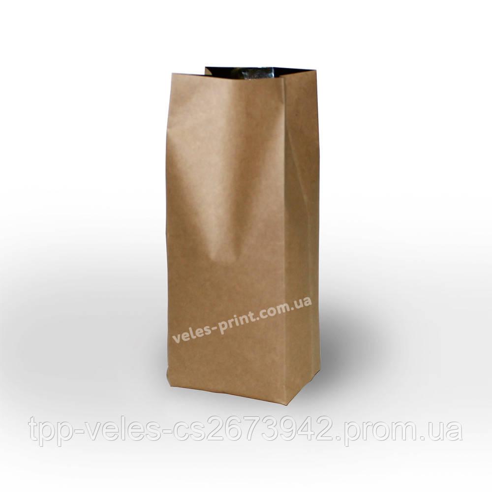 Пакет с центральным швом 1 кг Крафт 135*360 (35+35)