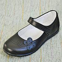 Черные кожаные туфли-лодочки, Eleven shoes размер 31-36