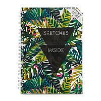 Блокнот Пальмовые листья 152-15117019