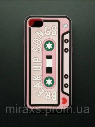Плотный резиновый чехол для iPhone 7/8. Break up songs, фото 2