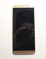 Оригинальный дисплей (модуль) + тачскрин (сенсор) для Oukitel K5000 (золотой цвет), фото 1
