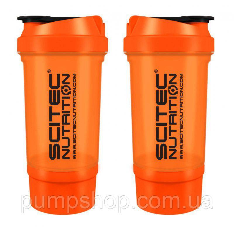 Шейкер Scitec Nutrition SmartShake Traveler 500 мл оранжевый