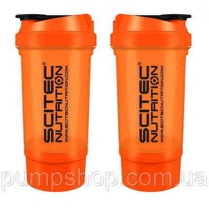 Шейкер Scitec Nutrition SmartShake Traveler 500 мл оранжевый, фото 2