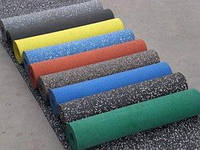 Резиновое покрытие для спортивных залов